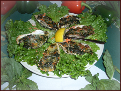Recipes smoked oysters