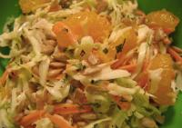 Tropical Fruit and Nut Slaw