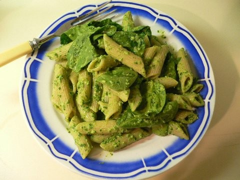 Pasta with spinach recipes