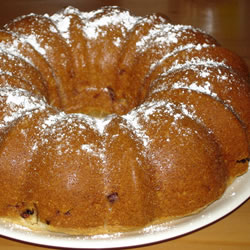 Apple Blossom Bundt Cake