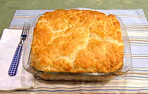 Autumn Vegetable Cobbler
