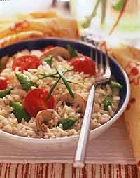rain - Rice and Vegetable Salad