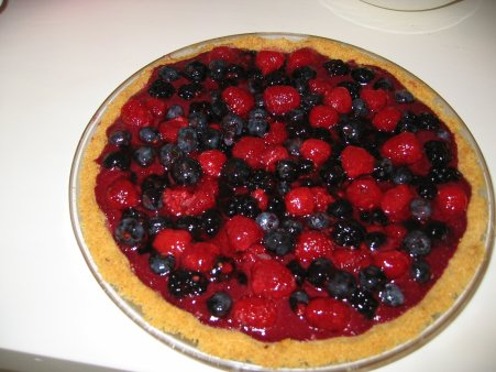 valentine recipes. Berry Valentine Pie